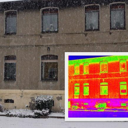 Thermografie, Wasserschadensanierung Schröder